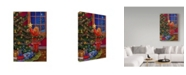 """Trademark Global Tricia Reilly-Matthews 'A Merry Little Christmas' Canvas Art - 30"""" x 47"""""""