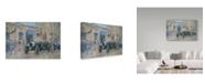 "Trademark Global Peter Miller 'Christmas at the Ritz' Canvas Art - 30"" x 47"""