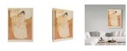 """Trademark Global Mary Stevenson Cassatt 'Maternal Caress' Canvas Art - 32"""" x 24"""""""