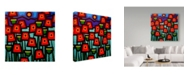 "Trademark Global John Nolan 'Poppy Field Blue Sky' Canvas Art - 35"" x 35"""