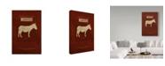 "Trademark Global Red Atlas Designs 'State Animal Missouri' Canvas Art - 30"" x 47"""