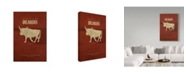 "Trademark Global Red Atlas Designs 'State Animal Oklahoma' Canvas Art - 30"" x 47"""