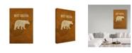 "Trademark Global Red Atlas Designs 'State Animal West Virginia' Canvas Art - 30"" x 47"""