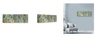 """Trademark Global Marietta Cohen Art And Design 'Stylized Flower' Canvas Art - 32"""" x 10"""""""