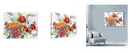 """Trademark Global Marietta Cohen Art And Design 'Watercolor Bouquet' Canvas Art - 32"""" x 24"""""""