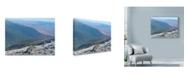 "Trademark Global Nina Marie 'Mount Washington Cairn 1' Canvas Art - 32"" x 24"""