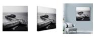 "Trademark Global Nina Papiorek 'The Fisherman' Canvas Art - 24"" x 24"""