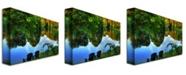 """Trademark Global Lois Bryan 'Summer Breeze' Canvas Art - 32"""" x 22"""""""