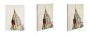 "Trademark Global Michael Tompsett 'Chrysler Building' Canvas Art - 32"" x 24"""