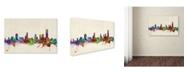 "Trademark Global Michael Tompsett 'Melbourne, Australia' Canvas Art - 32"" x 22"""