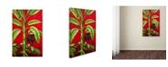 "Trademark Global Victor Giton 'Tropical Palm II' Canvas Art - 24"" x 16"""