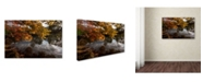 "Trademark Global Kurt Shaffer 'Kendal Lake Autumn' Canvas Art - 24"" x 16"""