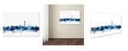 "Trademark Global Michael Tompsett 'Washington DC Skyline III' Canvas Art - 30"" x 47"""