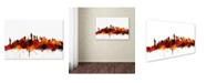 "Trademark Global Michael Tompsett 'New York Skyline VII' Canvas Art - 22"" x 32"""