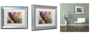 """Trademark Global Richard Wallich 'Art Rooster 2' Matted Framed Art - 11"""" x 14"""""""
