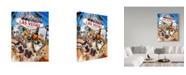 "Trademark Global Howard Robinson 'Las Vegas Pets' Canvas Art - 14"" x 19"""