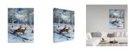 """Trademark Global Jeff Tift 'A Pair' Canvas Art - 14"""" x 19"""""""