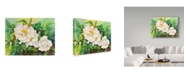 "Trademark Global Joanne Porter 'Camellias' Canvas Art - 14"" x 19"""