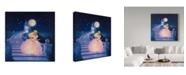 "Trademark Global Kirk Reinert 'Cinderella' Canvas Art - 14"" x 14"""