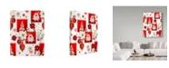 "Trademark Global Maria Rytova 'Christmas Bright Composition 4' Canvas Art - 14"" x 19"""