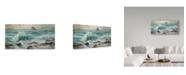 "Trademark Global Steve Henderson 'Water Music' Canvas Art - 12"" x 24"""