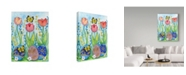 "Trademark Global Valarie Wade 'Egg Hunt' Canvas Art - 14"" x 19"""