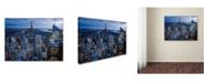 "Trademark Global Yakov Agani 'New York City, NY' Canvas Art - 14"" x 19"""
