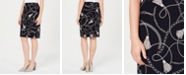 Nine West Printed Knit Skirt