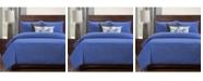 Siscovers Wooly Cobolt 6 Piece Queen Luxury Duvet Set