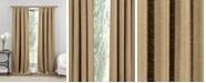 """Duck River Textile Rebecca 37"""" x 84"""" Faux Linen Curtain Set"""