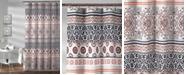 "Lush Decor Nesco Stripe 72"" x 72"" Shower Curtain"