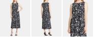 Lauren Ralph Lauren Floral-Print Sleeveless Crepe Dress