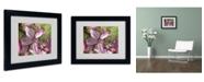"""Trademark Global Monica Fleet 'Refined Grace' Matted Framed Art - 14"""" x 11"""""""