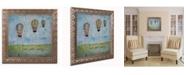 "Trademark Global Nicole Dietz 'Up and Away' Ornate Framed Art - 16"" x 16"""