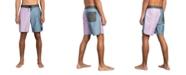 RVCA Men's South Eastern Stretch Colorblocked Swim Trunks