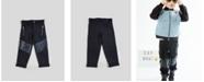 Kinderkind Big and Toddler Boy's Mixed Media with Slant Pocket Pant