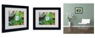 "Trademark Global Monica Fleet 'Dignified Characteristic' Matted Framed Art - 14"" x 11"""