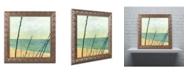 "Trademark Global Michelle Calkins 'Branches on the Beach' Ornate Framed Art - 16"" x 16"""