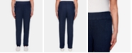 Alfred Dunner Lake Tahoe Pull-On Jeans