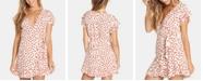 Billabong Juniors' Printed Wrap Dress