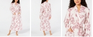 Charter Club Cotton Floral-Print Robe, Created for Macy's