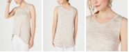 Style & Co Spacedyed Tank-Tank Top. Created for Macy's