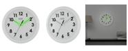 "La Crosse Technology La Crosse Illuminations 10"" Analog Wall Clock with Glowing Hands"
