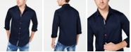 INC International Concepts I.N.C. Men's Color Trimmed Shirt, Created for Macy's