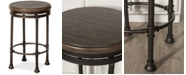 Hillsdale Casselberry Swivel Backless Round Counter Stool