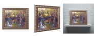"""Trademark Global David Lloyd Glover 'Tapestry Reflection' Ornate Framed Art - 16"""" x 20"""""""