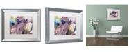 """Trademark Global David Lloyd Glover 'Cloud Patterns' Matted Framed Art - 16"""" x 20"""""""
