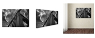 "Trademark Global Jason Shaffer 'Andy Warhol Bridge' Canvas Art - 32"" x 22"""