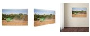 """Trademark Global Jason Shaffer 'John Deere' Canvas Art - 47"""" x 30"""""""