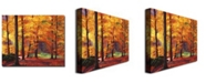 "Trademark Global David Lloyd Glover 'Autumn Serenity' Canvas Art - 47"" x 35"""